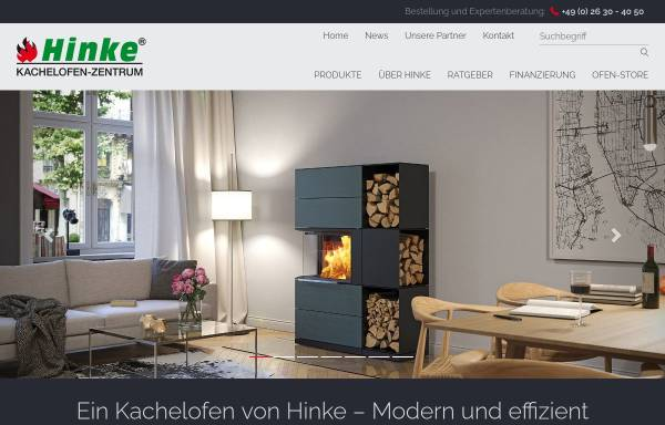 Vorschau von www.kachelofenzentrum-hinke.de, Kachelofen-Zentrum Hinke GmbH