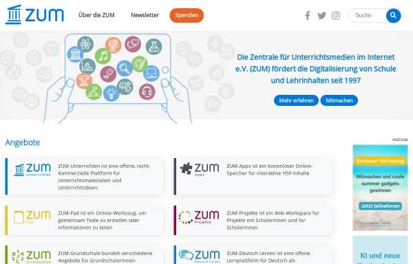 Vorschau von www.zum.de, Ausführungen über die Methode seine Vernunft gut zu gebrauchen