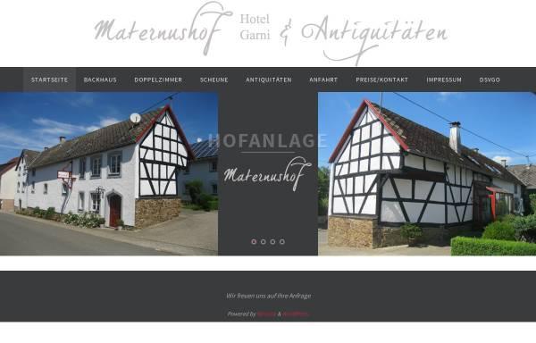 Vorschau von maternushof.com, Hotel Maternushof