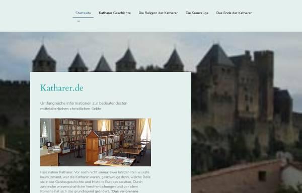 Vorschau von www.katharer.de, Katharer