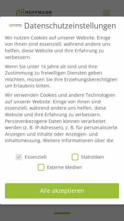 Vorschau der mobilen Webseite www.hoffmann-gutachten.com, Hoffmann, Gerd W.