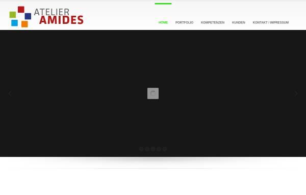 Vorschau von www.amides.com, Amides Atelier für Multimedia- und Informationsdesign Andreas Mischke