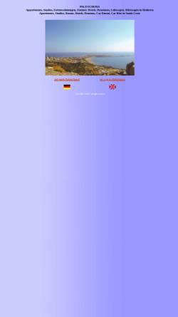 Vorschau der mobilen Webseite www.rokinn.com, Paleochora & Sougia
