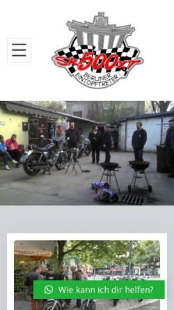 Vorschau der mobilen Webseite www.eintopftreter.de, Berliner Eintopftreter SR/XT 500