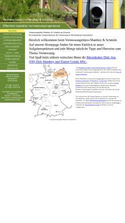 Vorschau der mobilen Webseite www.wertermittlung24.de, Manthey & Schmidt Vermessungsbüro