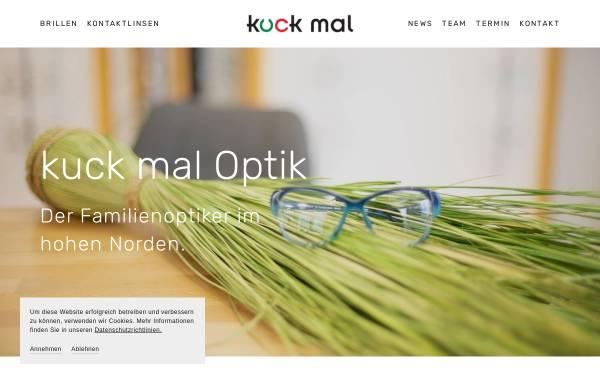 Vorschau von www.kuck-mal.de, kuck mal, Trave-Optik GmbH