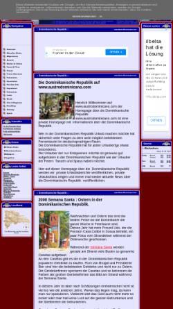 Vorschau der mobilen Webseite www.austrodominicano.com, Austro Dominicano
