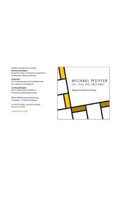 Vorschau der mobilen Webseite www.grund-und-wert.de, Pfeiffer, Michael