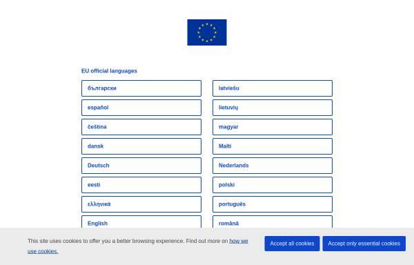 Vorschau von europa.eu, Europa