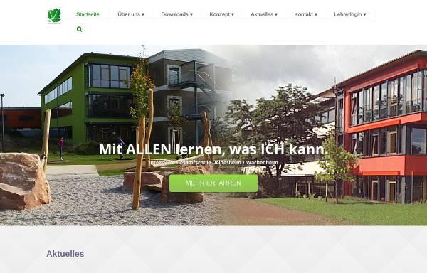 Vorschau von www.igs-deiwa.de, Integrierte Gesamtschule Deidesheim/Wachenheim
