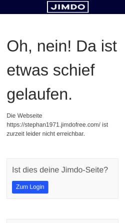 Vorschau der mobilen Webseite stephan1971.jimdo.com, Max-Cycles Stephan Elberskirch