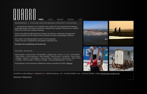 Vorschau von www.quadro-norderney.de, Quadro im alten Rathaus