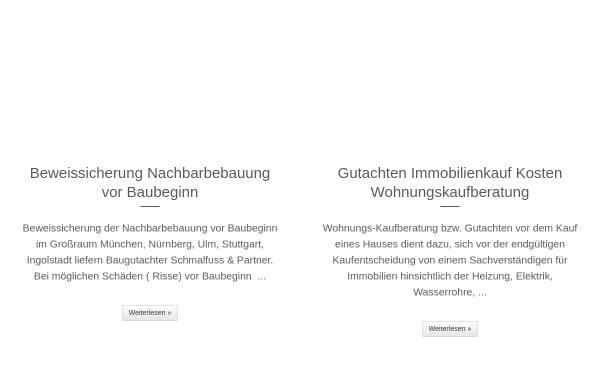 Vorschau von bausachverstaendige.info, Schmalfuß GmbH