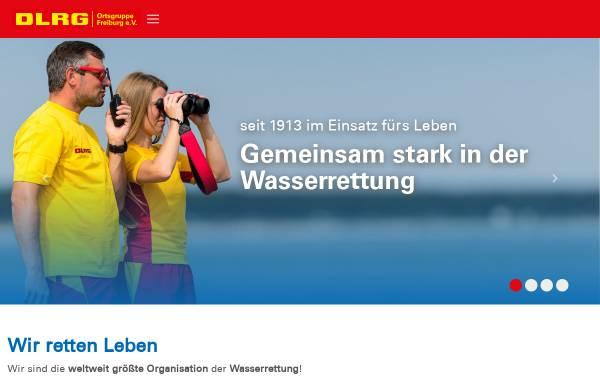Vorschau von freiburg.dlrg.de, DLRG Ortsgruppe Freiburg e.V.