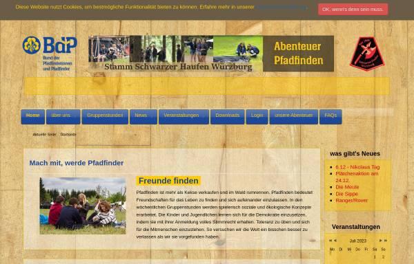 Vorschau von www.schwarzer-haufen.de, BdP - Stamm Schwarzer Haufen