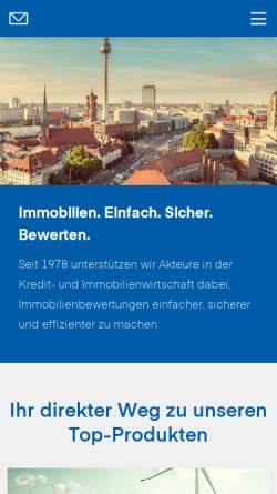 Vorschau der mobilen Webseite www.sprengnetter.de, Sprengnetter GmbH