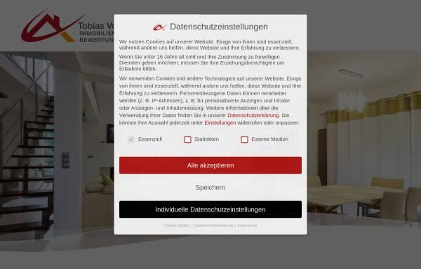 Vorschau von www.immobilienbewertungen.org, Volle, Tobias