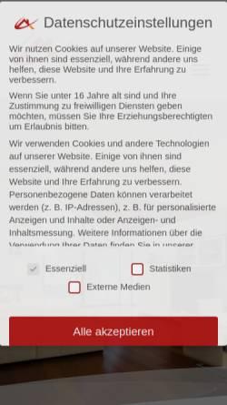Vorschau der mobilen Webseite www.immobilienbewertungen.org, Volle, Tobias