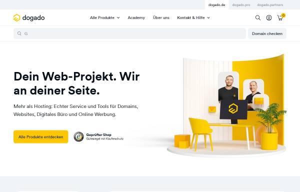 Vorschau von www.dogado.de, dogado Internet GmbH
