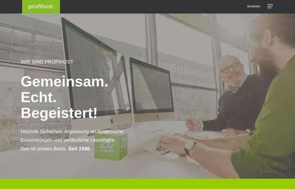 Vorschau von www.profihost.com, Profihost AG