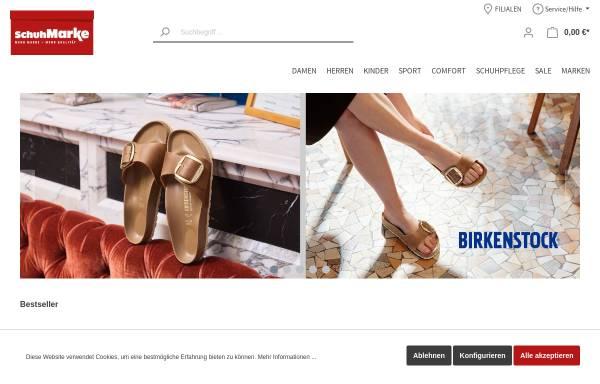 Vorschau von www.schuh-marke.de, Schuh Marke GmbH & Co. KG