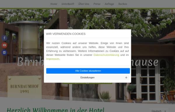 Vorschau von www.birnbaumhof.de, Birnbaumhof