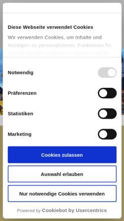 Vorschau der mobilen Webseite www.lindners.net, Lindner's Hotel-Restaurant