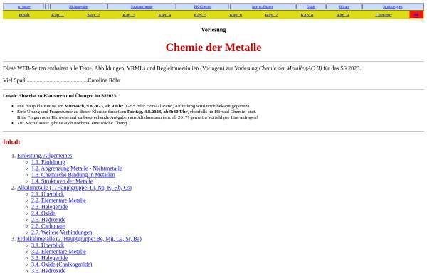 Vorschau von ruby.chemie.uni-freiburg.de, Chemie der Metalle