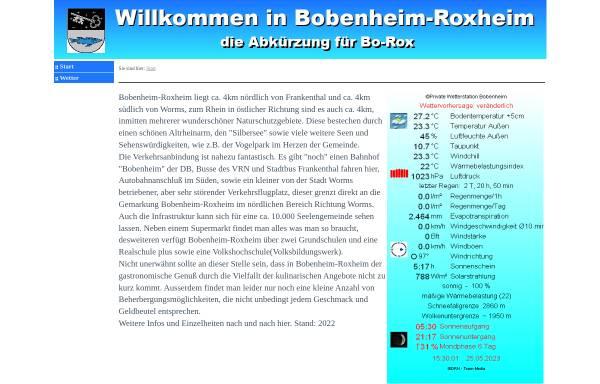 Vorschau von www.bo-rox.de, Wetter Bobenheim-Roxheim