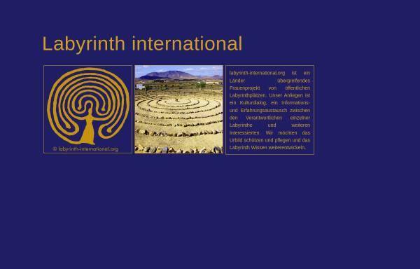 Vorschau von www.labyrinth-international.org, Labyrinth-Project International