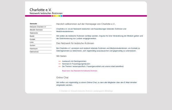 Vorschau von www.netzwerk-charlotte.de, Charlotte e.V.