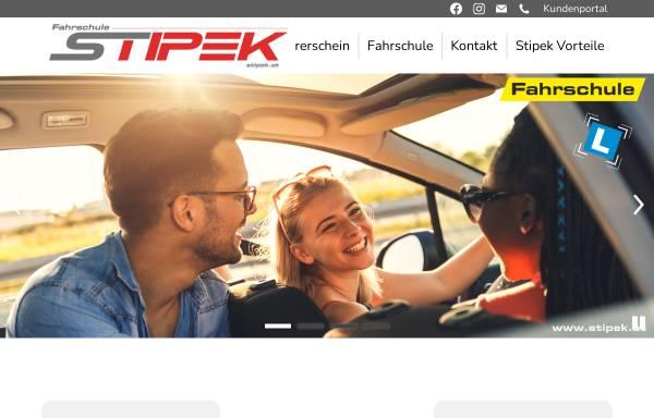 Vorschau von www.stipek.at, Fahrschule Stipek