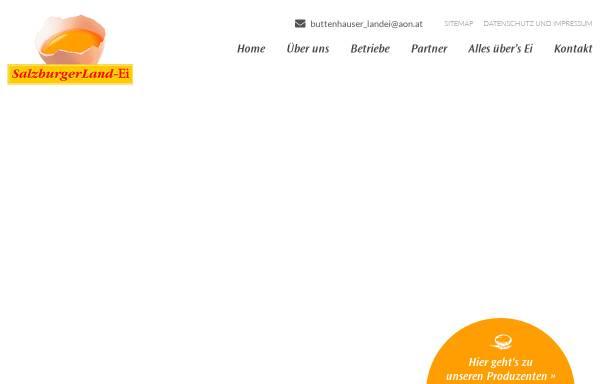 Vorschau von www.salzburgerland-ei.at, SalzburgerLand Ei