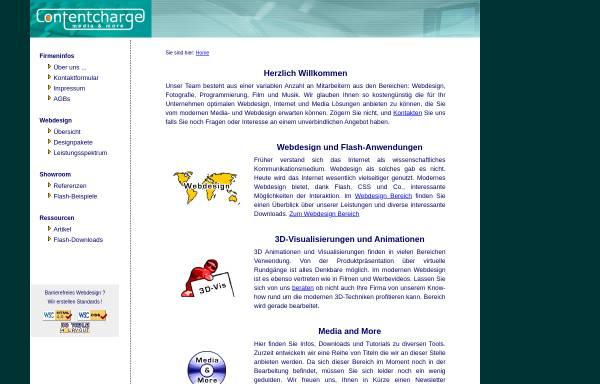 Vorschau von www.contentcharge.de, Contentcharge-Media Christian Lehmann