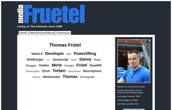 Vorschau von www.fruetel.de, Fruetel Media Services