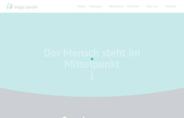 Vorschau von www.image-transfer.de, Image Transfer GmbH