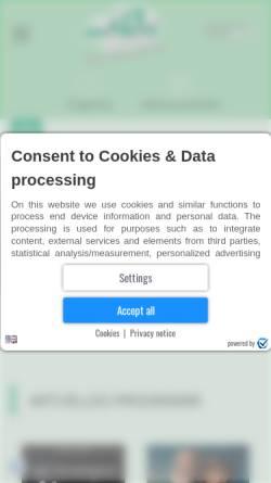 Vorschau der mobilen Webseite wied-scala.de, Wied Scala