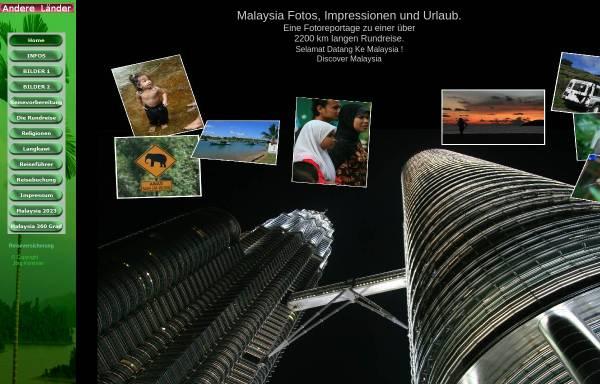 Vorschau von malaysia.photoreise.de, Malaysia Rundreise [Jörg Kemmler]