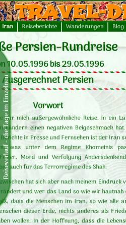 Vorschau der mobilen Webseite www.gmmb.de, Rundreise durch Persien [Michael Bernhard]
