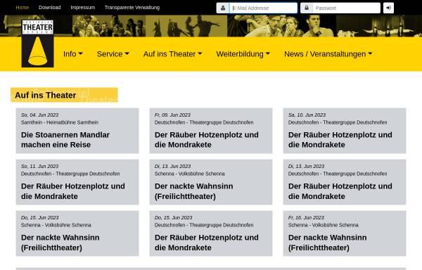 Vorschau von www.stv.bz.it, Südtiroler Theaterverband