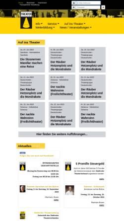 Vorschau der mobilen Webseite www.stv.bz.it, Südtiroler Theaterverband