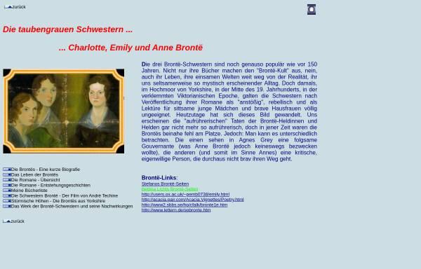 Vorschau von www.mynetcologne.de, Die taubengrauen Schwestern - Charlotte, Emily und Anne Brontë
