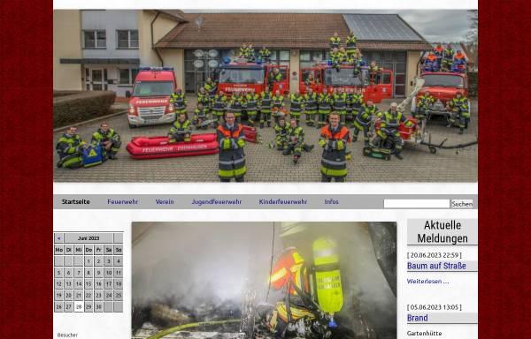 Vorschau von www.ff-ebenhausen.de, Freiwillige Feuerwehr Ebenhausen