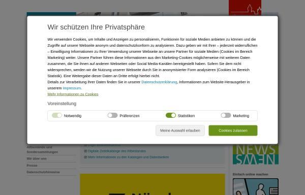 Vorschau von www.nuernberg.de, Stadtbibliothek