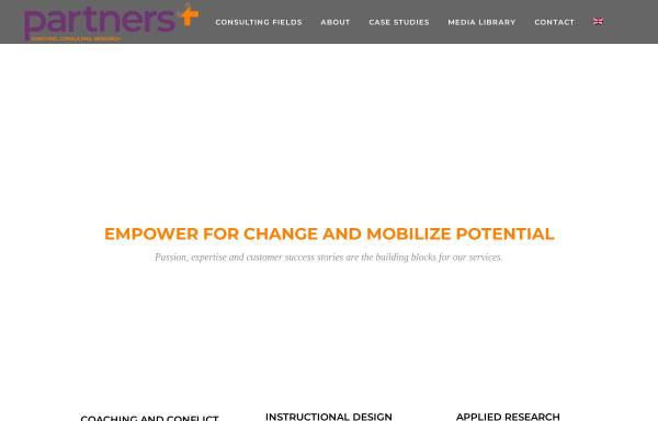 Vorschau von partners4.com, Beraterinnennetzwerk Partners4