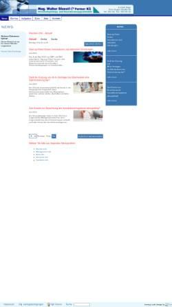 Vorschau der mobilen Webseite www.dienstl.at, Dienstl Walter, Mag.