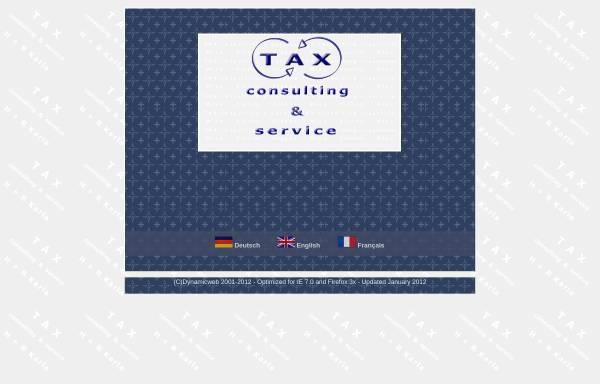 Vorschau von www.taxconsulting-karla.com, Tax Consulting und Service