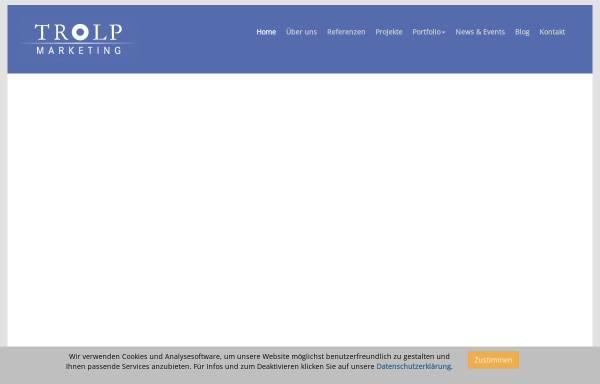 Vorschau von www.trolp-marketing.at, Trolp Marketing-Agentur OEG