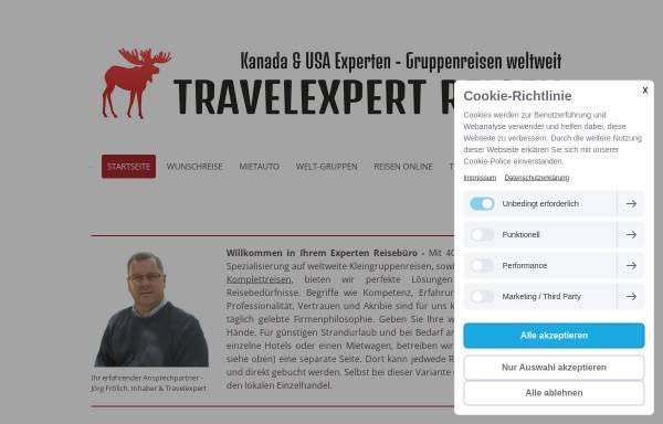 Vorschau von www.travelexpert.de, Canada & USA West Tours