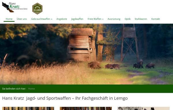 Vorschau von www.hanskratz.de, Waffengeschäft Hans Kratz